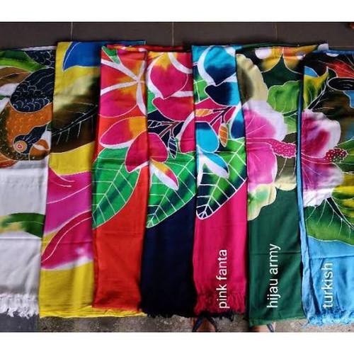 Foto Produk Grosir kain pantai tebal khas bali motif pantai dari Intan Bali