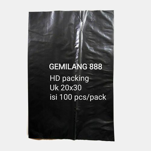 Foto Produk HD Packing Hitam uk 20x30, Plastik Packing, plastik bungkus paket dari Gemilang 888