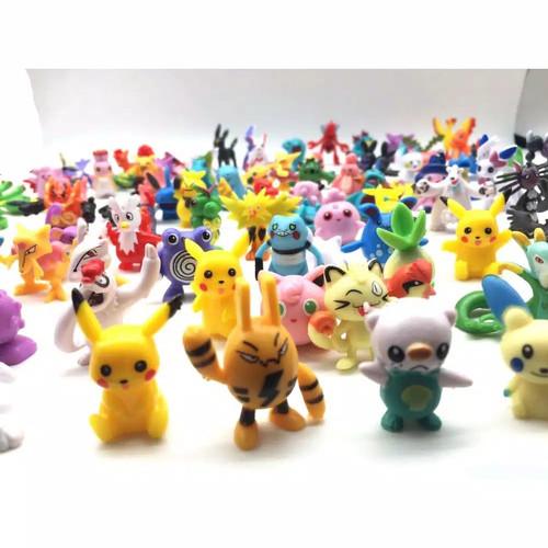Foto Produk Action figure pokemon 24 pcs set / Topper kue pokemon/Pajangan pokemon dari Rania Store16