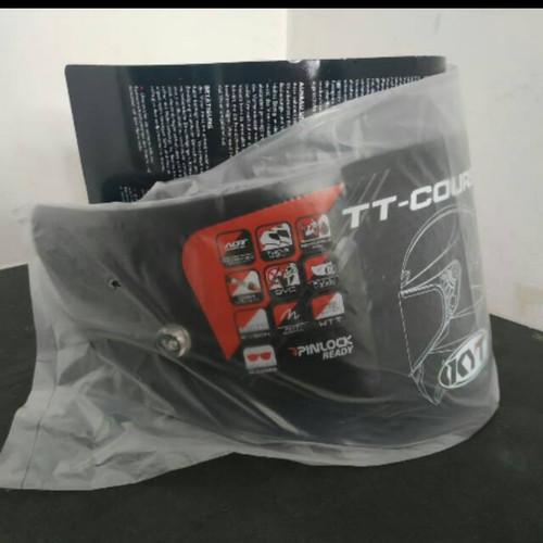 Foto Produk visor KYT TT Course/Visor Dark TT Course dari Risky 15