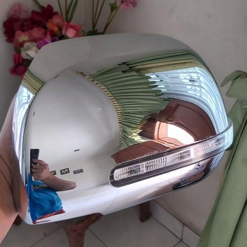 Foto Produk Batok Cover Spion Chrome kiri Mobil Grand Kijang Innova G ORI 2012 UP dari 3g Tech / x-10 ceLL