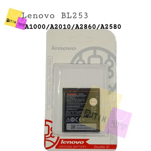Foto Produk Baterai Batre Battery Original Lenovo BL253/A1000 dari Putinshop