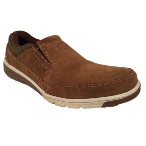 Foto Produk Handymen SWE 01 Sepatu Kulit Casual Formal (harga garansi TERMURAH ) - Cokelat dari Raja Sepatu Kulit