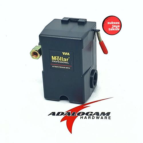 Foto Produk Mollar Pressure Switch Otomatis Kompresor 1 Lubang dari sukses jaya teknik
