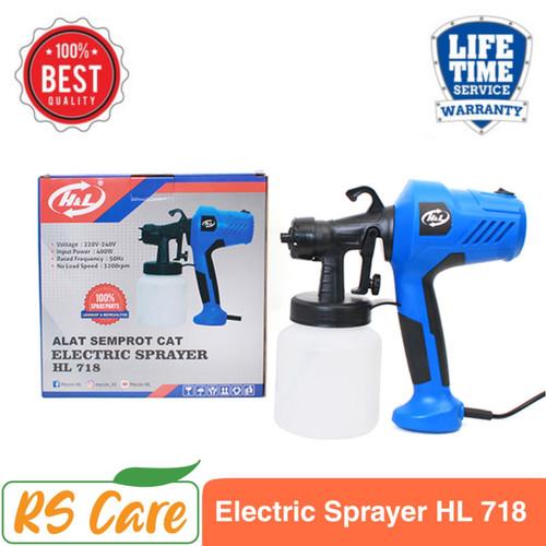 Foto Produk Electric Spray Gun H&L HL 718 Alat Semprot Cat Elektrik dari RS Care