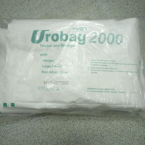 Foto Produk urine bag with hanger dari medicaldunia