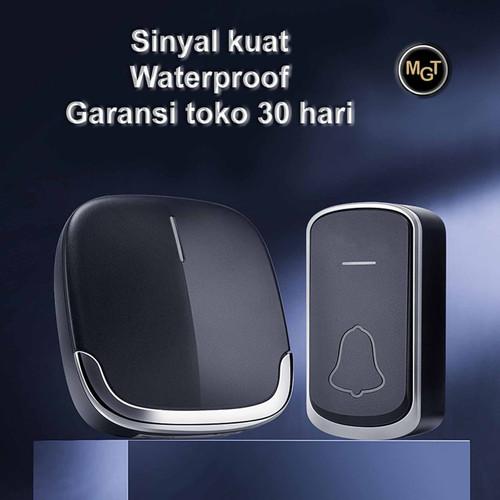 Foto Produk Bel Rumah Wireless Waterproof Premium Door dari MGT shop