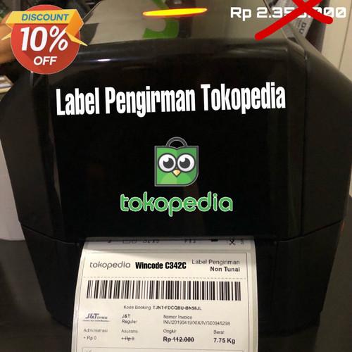 Foto Produk Barcode Label Printer WINCODE C342C Sekelas TSC 244-542-Argox CP-2140 dari PANDA RETAIL SOLUTIONS