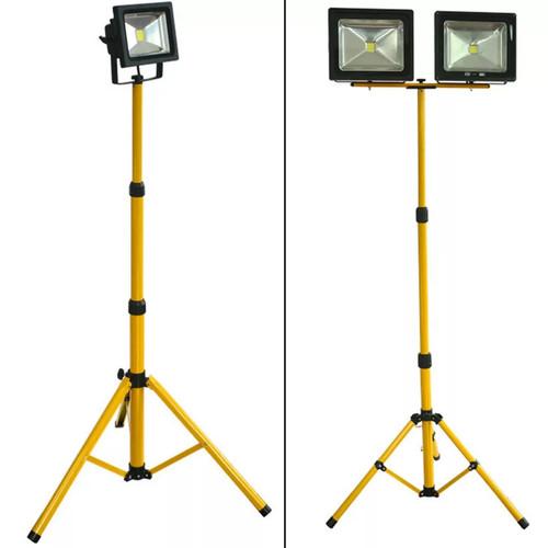 Foto Produk TRIPOD LAMPU SOROT / STAND FLOOD LIGHT 1.6 METER dari Zetama id