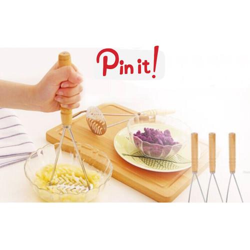 Foto Produk Mashed Potato Crusher Smasher Alat Penghancur Kentang Buah Sayur dll dari Zen Baby