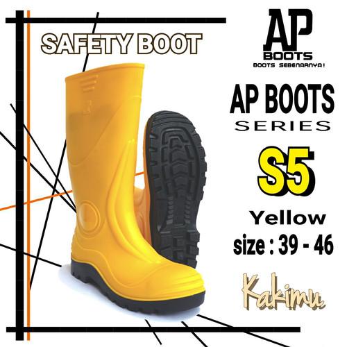 Foto Produk SEPATU SAFETY BOOT MURAH AP BOOTS S 5 YELLOW dari kakimu_ols