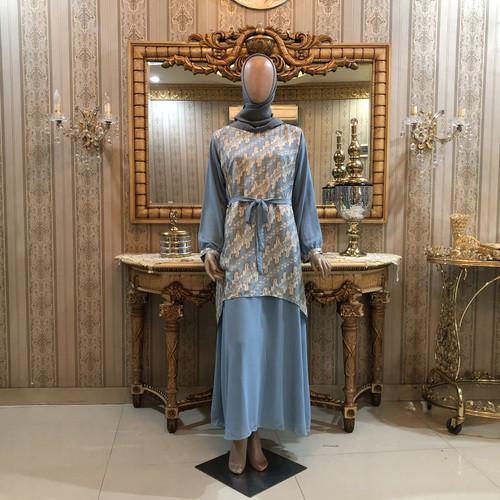 Foto Produk Gaun Hania MK dari Qonita Batik Official