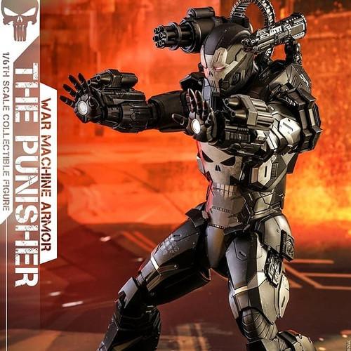 Foto Produk Hot Toys The Punisher War Machine Armor (Marvel Future Fight) dari Hochi Hobby