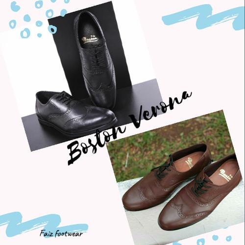 Foto Produk sepatu kulit model verona (,bally,kickers,delta,brodo,pantofel,boots, dari faiz footwear