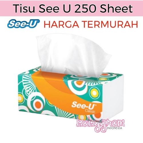Foto Produk Tissue Tisu See-U See U 250 sheet dari Babygram_indonesia
