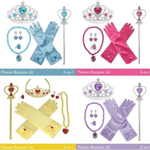 Foto Produk Aksesoris frozen set. princess crown tongkat acc anna mahkota elsa dari Brandedbaby Murah