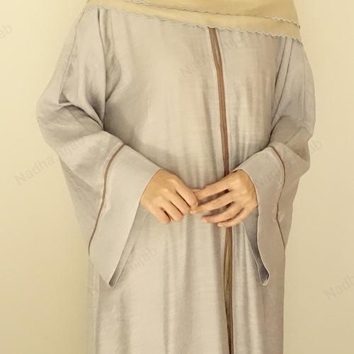 Foto Produk Abaya Amal - Light Sky dari Hijab.Nadha