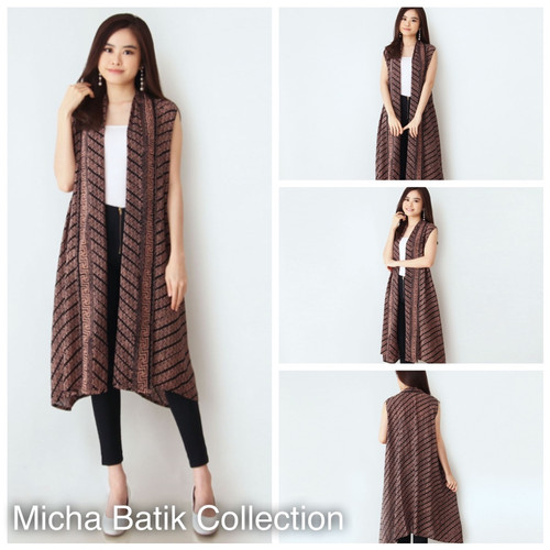 Foto Produk Outer batik paris: Maxi dari Micha Batik Collection