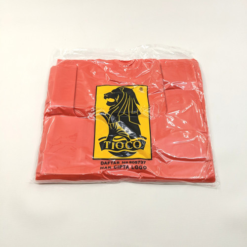 Foto Produk Kantong Plastik Kresek Tioco HD Merah Ukuran 28 dari TopJaya Plastik