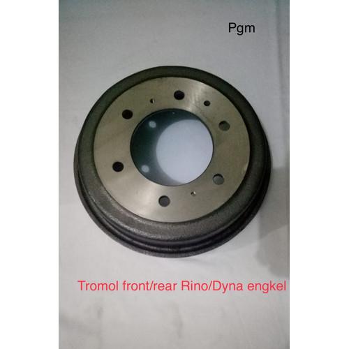 Foto Produk Tromol depan belakang Brake drum front rear Rino dyna engkel ban 4roda dari P.G.M