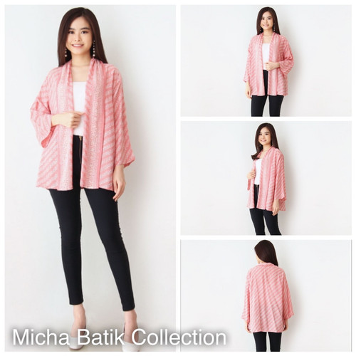 Foto Produk Outer batik paris: Cardigan Soft Motif dari Micha Batik Collection