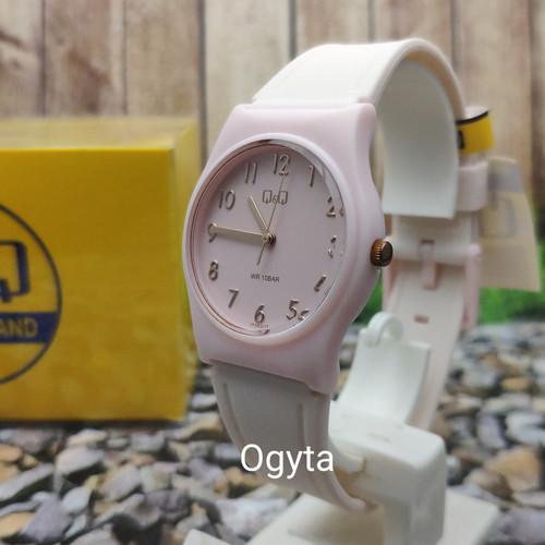 Foto Produk Q&Q QQ QnQ Analog Jam Tangan Wanita Pink VP34J077Y Original dari Ogyta Shop
