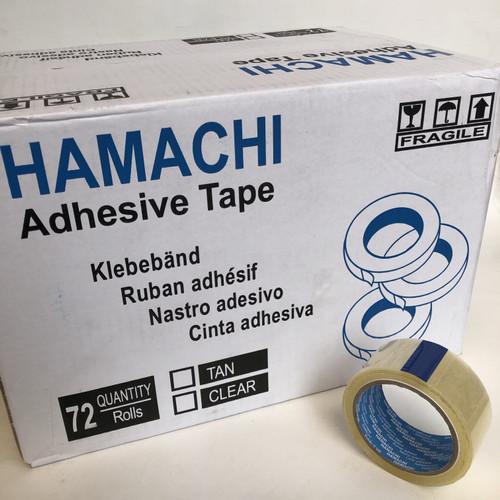 Foto Produk lakban bening Hamachi 45mm [1 dus = 72 pcs] dari Toko LuShan
