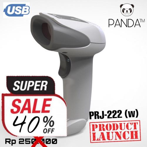 Foto Produk Barcode Scanner Laser Tangan 1D PANDA PRJ-222 (w) USB best for JNE-JNT dari PANDA RETAIL SOLUTIONS
