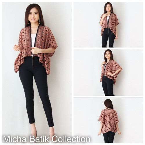 Foto Produk Outer batik: Bolero paris cap sogan dari Micha Batik Collection