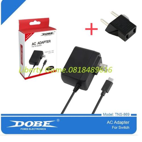 Foto Produk Nintendo Switch DOBE AC Adapter Type C USB Wall Charger dari Suyanto//Liberty Game