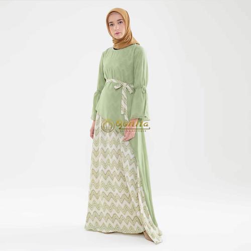 Foto Produk Gaun Nadin MK dari Qonita Batik Official