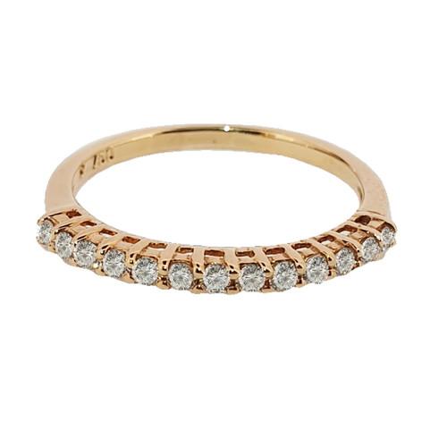 Foto Produk Cincin Emas Berlian List ring SR 0856Y dari Goldmart Official Shop