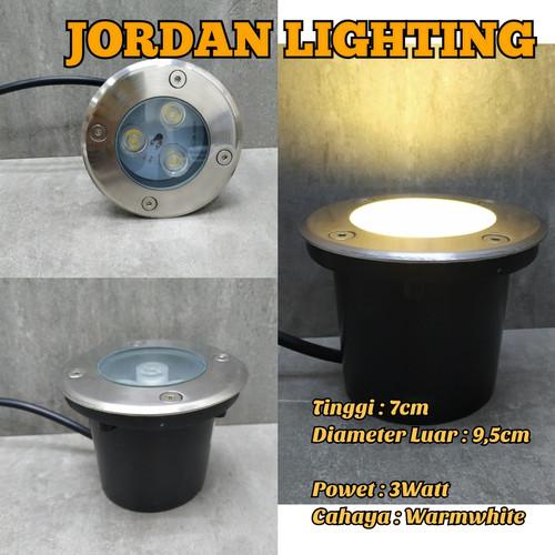 Jual Lampu Taman Lantai Led Waterproof 3 Watt Jakarta Timur Jordan Lighting Tokopedia