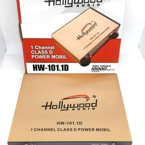 Foto Produk POWER MONOBLOCK CLASS D HOLLYWOOD HW 101.1D dari drivins