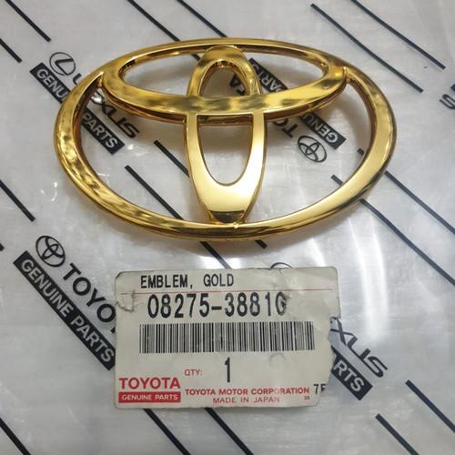 Foto Produk emblem logo gold toyota kijang KF 70 depan 08275-38810 dari toko#dirumahaja