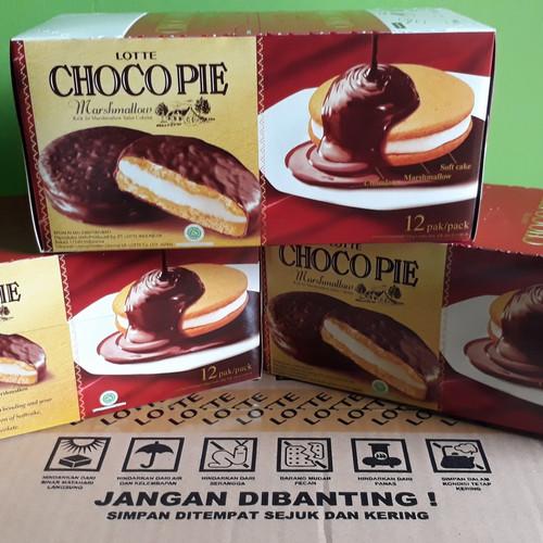 Foto Produk Choco Pie Lotte 336 gr dari Sumber Berkah Boga