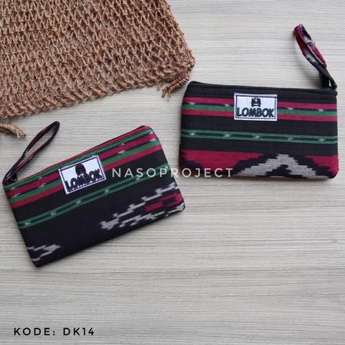 Foto Produk Pouch Tenun Etnik Lombok Dompet Batik Kondangan dari nasoproject