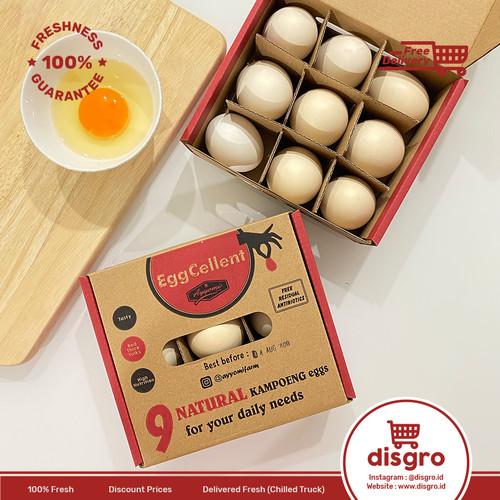 Foto Produk Eggcellent Telur ayam kampung premium red yolk telur ayyomi dari DISGRO