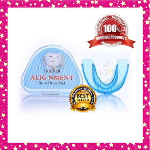 Foto Produk Original Orthodontic retainer teeth trainer aligment, perapih gigi dari SS TheGoodStuff