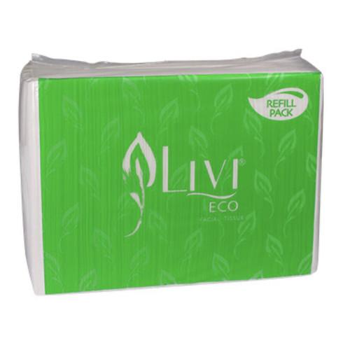 Foto Produk Tissue LIVI ECO Facial Refill 600's dari AP Clean