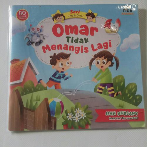 Foto Produk Buku Cerita Anak Usia Dini Seri Omar dan Uma Tiga Ananda - Omar Tdk Men dari Toko AA.