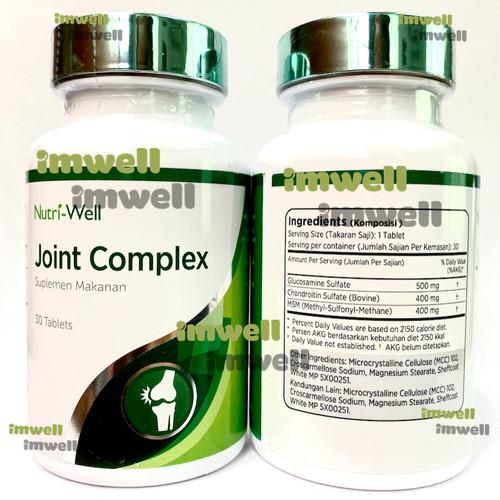 Glucosamine Chondroitin MSM tabletta - 60 tabletta - Új termék