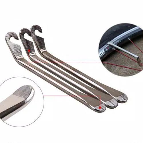Foto Produk Alat Pembuka Ban sepeda - tyre lever metal dari Uwo Sports