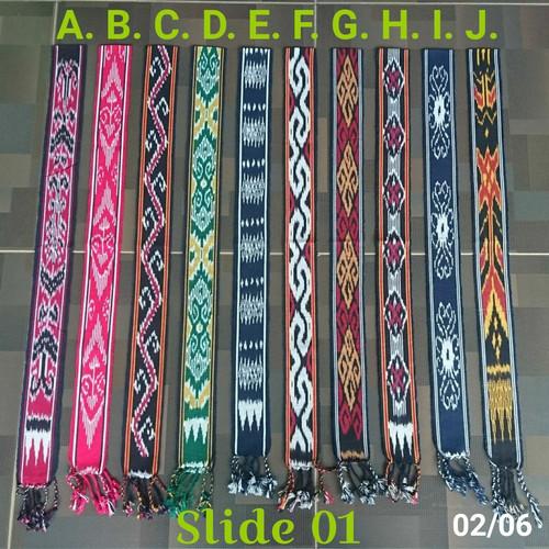 Foto Produk Tenun ikat kepala ethnic - Kode A dari TITAS textile