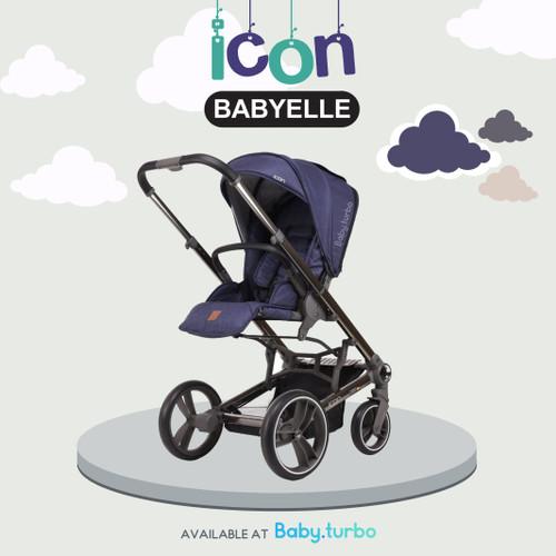 Foto Produk Baby Stroller BabyElle Icon S980 - Blue dari Baby Turbo