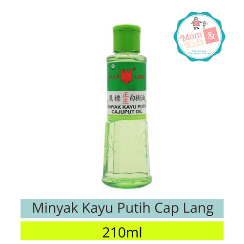 Foto Produk Minyak Kayu Putih Cap Lang 210ml dari Toko Susu Mom n Kids