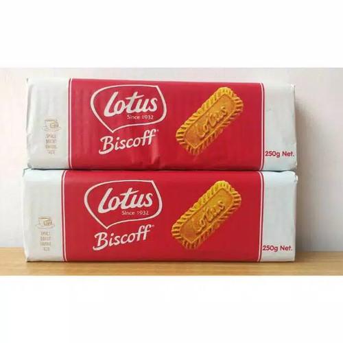 Foto Produk Lotus biscoff biskuit caramel 250gr dari juni c