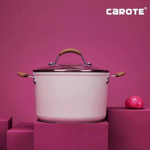 Foto Produk Carote Bio-Pink Soup Panci With Lid 22 Cm dari MCI-BioGlass