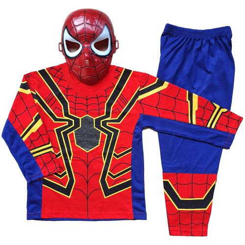Foto Produk Baju Anak Kostum Topeng Superhero Spiderman - Size 12 dari BelalangKupuKupu