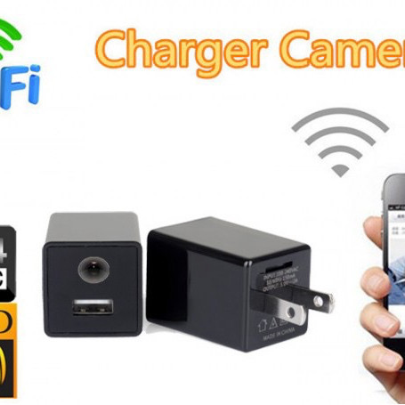Foto Produk Z99 WIRELESS HD 1080 WIFI HIDDEN CAMERA USB MINI WALL ADAPTOR CHARGER dari Hinarichan